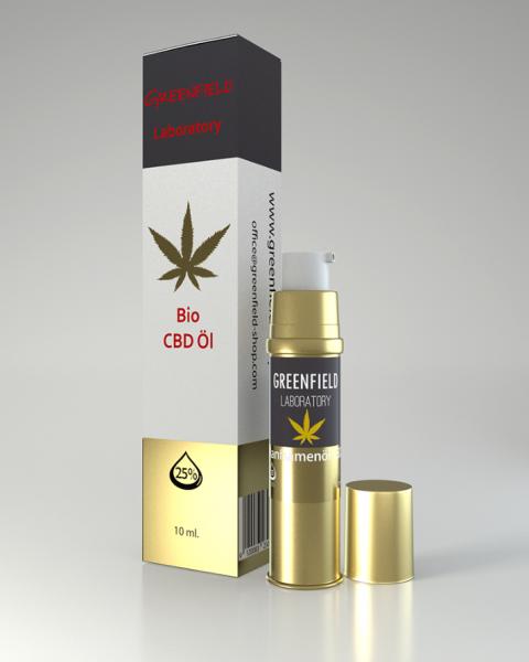 CBD Öl 25% (GOLDEXTRAKT) 10ml