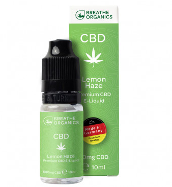 Premium CBD E-Liquid Lemon Haze 600mg