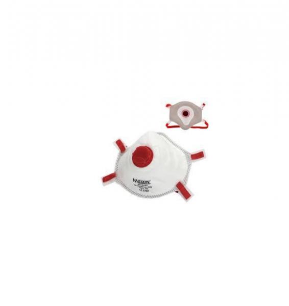 FFP3-Premium Atemschutzmaske mit Ventil von Meixin - 5 Stück mit CE-Zertifikat