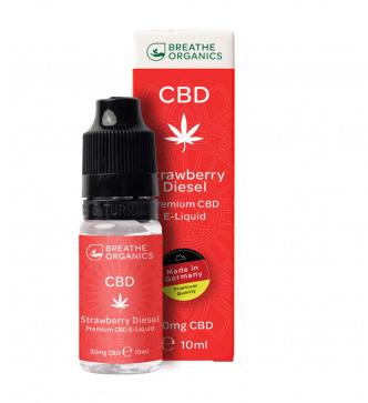 Breathe Organics - Premium Strawberry Diesel 100