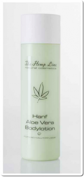 Hanf Aloe Vera Bodylotion 200 ml