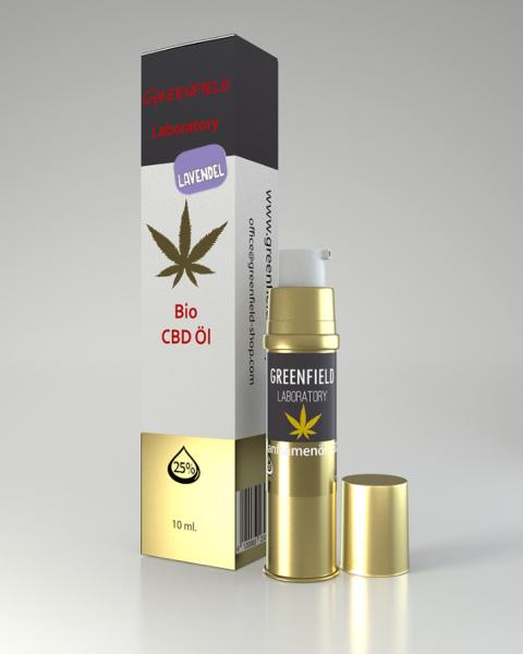 CBD Öl 25% mit Lavendel