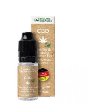 Breathe Organics - active Vanille & Matcha Grüner Tee 600