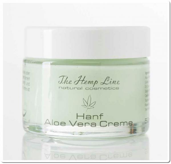 Hanf Aloe Vera Creme 50 ml